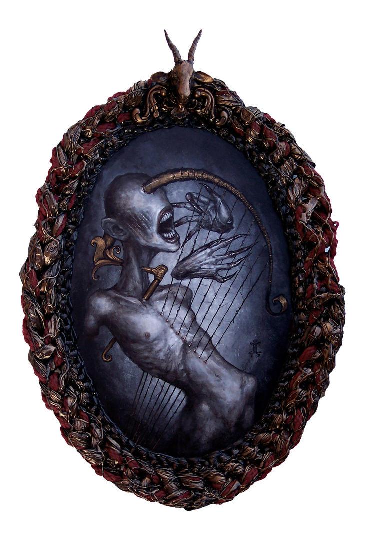 The singing Harp by larkin-art