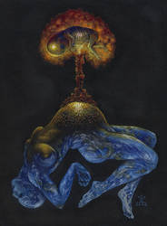 matricide by larkin-art