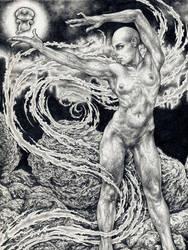 the sorceress by larkin-art