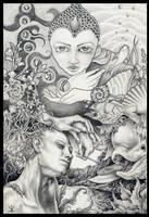the world we lost- Ingecollab2 by larkin-art
