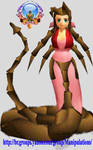 Final Fantasy - Aerith morph