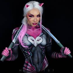 Miss Meow Bodypaint