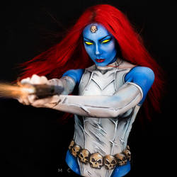 Mystique (Comic) Body paint