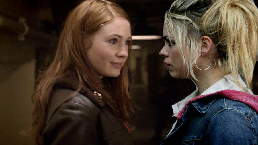 When Amy Pond Met Rose Tyler 2 by RoseandAmyFantasy