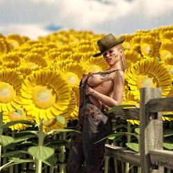 Sun Flowers by Eloo-3D