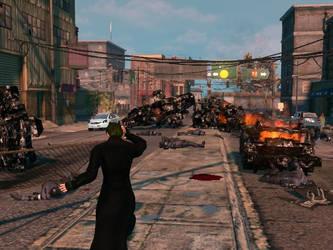 Venom getting crazy in Steelport by Venom-Ira-Gorgon