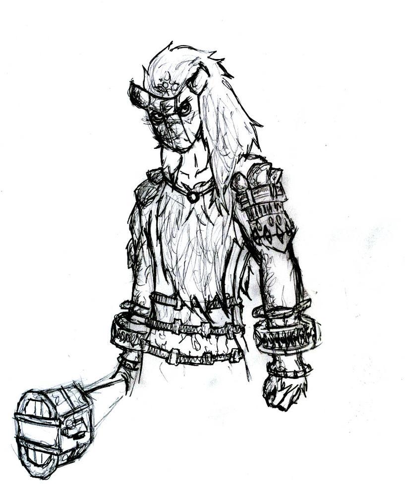 Colossus - Humanized - Valus by Zero-Nihilism on DeviantArt