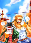 -+ Two Silly Drunkards +-