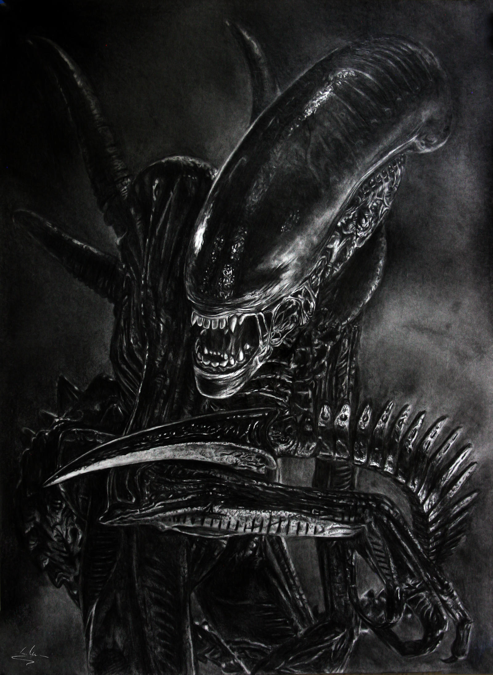 Alien by Shekhina on DeviantArt H.r. Giger Wallpaper