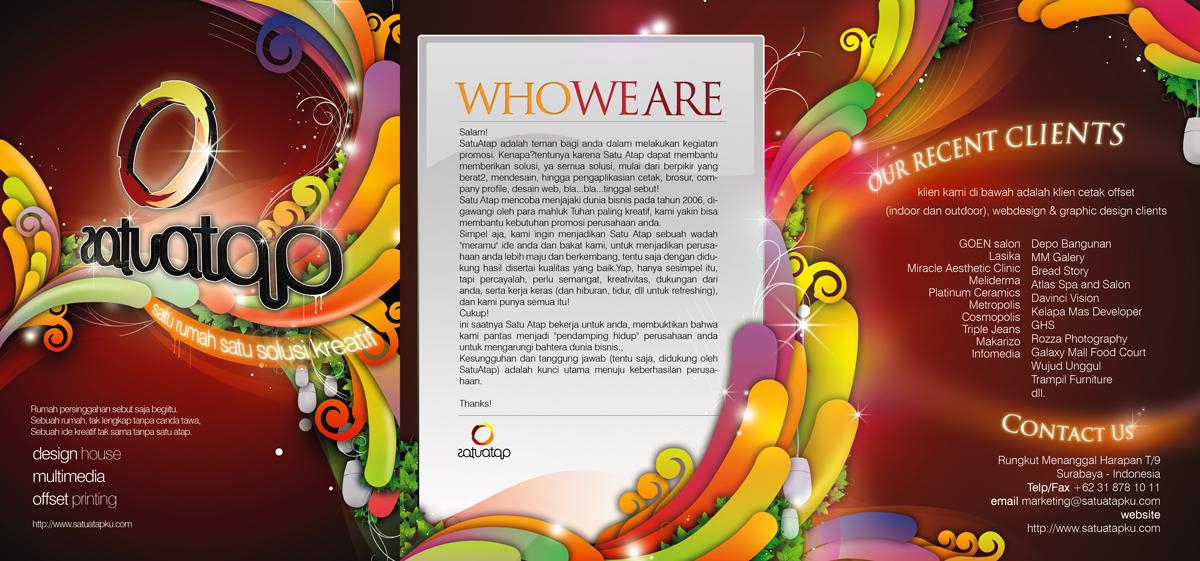 satu atap brochure by aremanvin