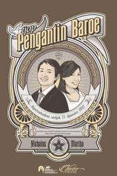 nico and martha wedding poster