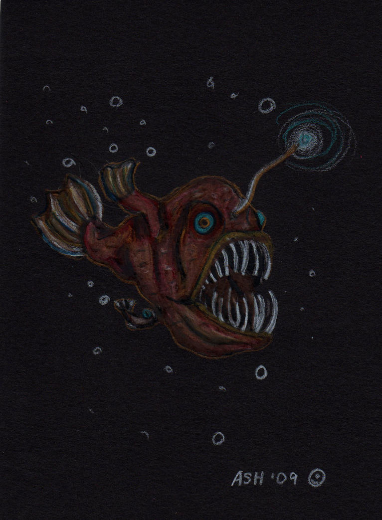 Angler Fish with Attac...