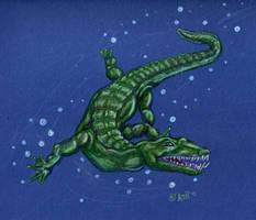Nothosaurus by SpacerHunterZORG