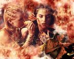 Xena Wallpaper - Gurkhan
