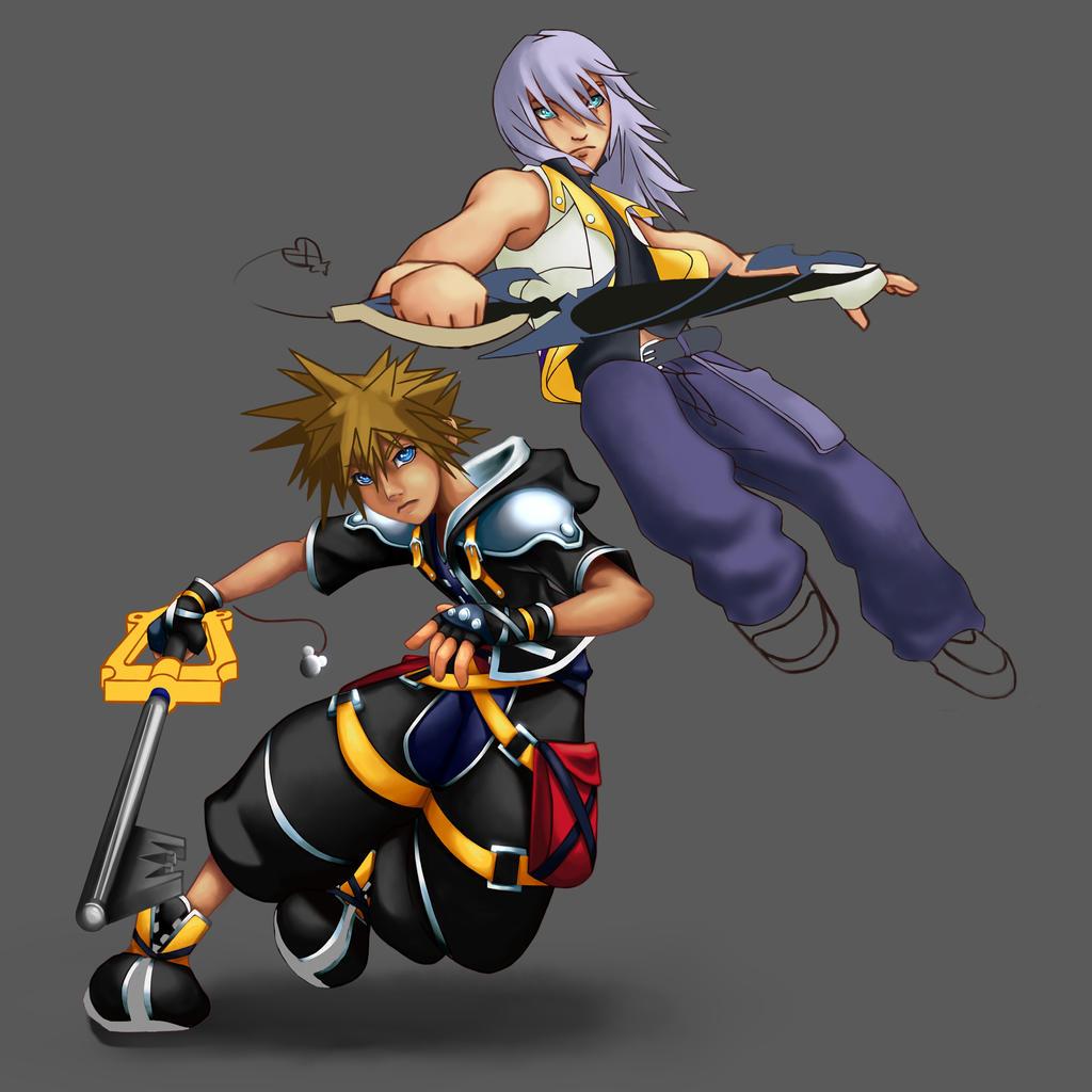 Sora And Riku Progress IV By Daydreamer-520 On DeviantART