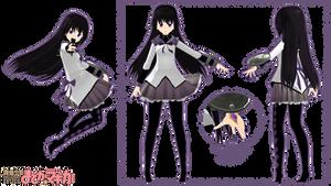 MOTM: Homura Akemi (Magical Girl Outfit)