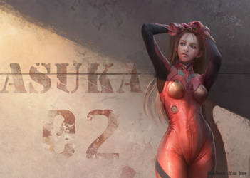 Asuka by yueyuecg
