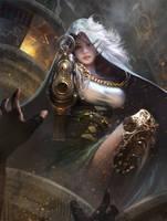 The thief girl by yueyuecg