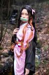 Nezuko  by Virtual Geisha