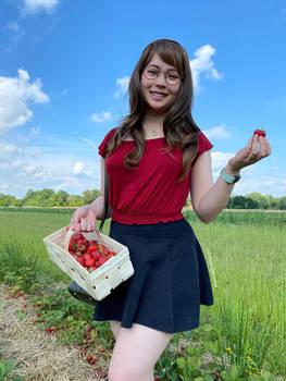 Would you like to go strawberry picking together?