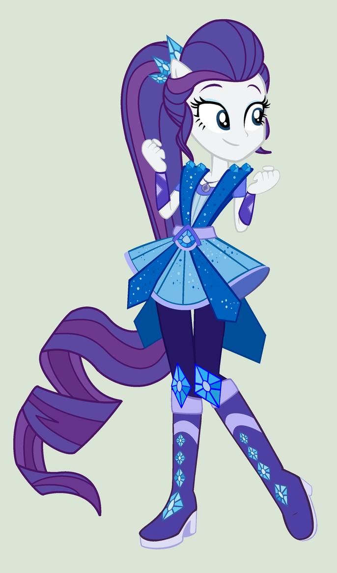 Mlp rarity transformation legend of everfree by for My little pony legend of everfree coloring pages