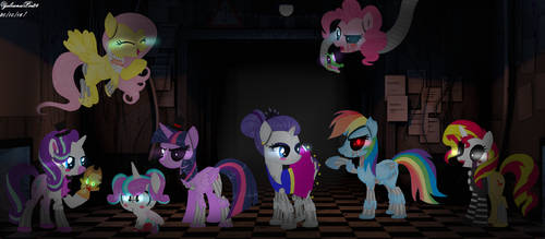MLP Ponifications FNAF Special Halloween 2016!