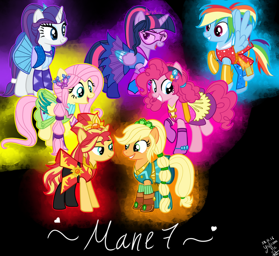 MLP Ponification Transformation Mane 7 By YulianaPie26 On DeviantArt