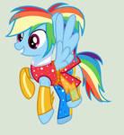 MLP Rainbow DashTransformation Leyend of Everfree