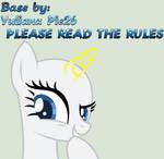 MLP Base #10 Rarity--Oh Yeah!?