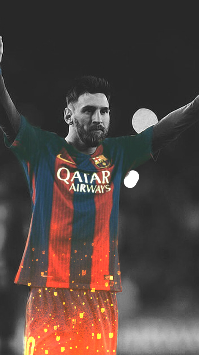 Lionel Messi Phone Wallpaper By Young Pharaoh 95