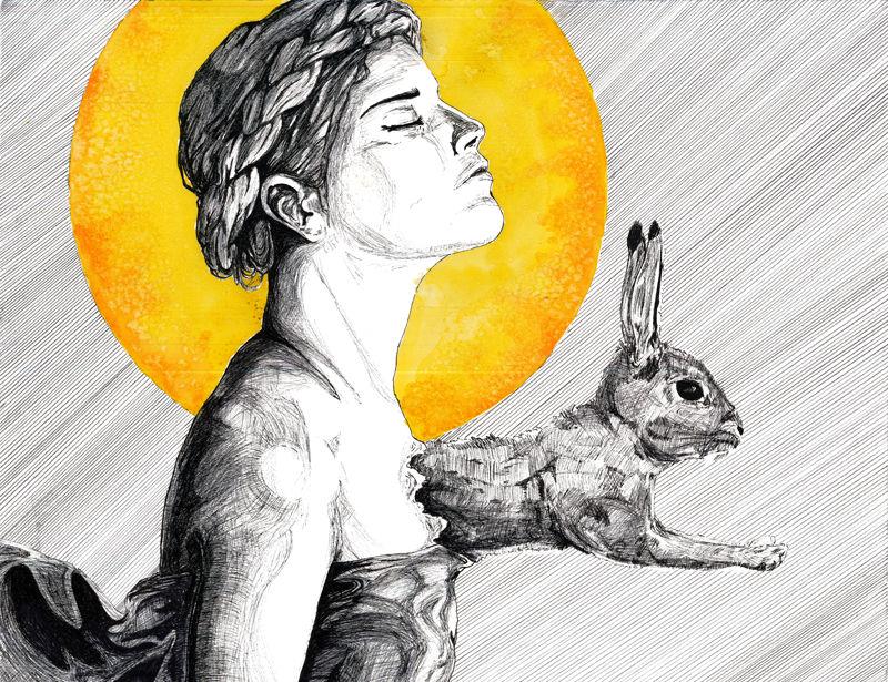 Rabbit Hearted girl