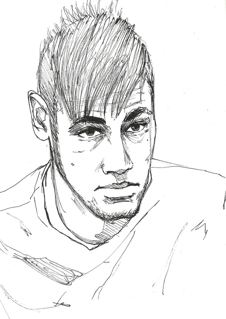 soccer coloring pages neymar skills - photo#25