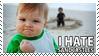 I hate sandcastles stamp by sandwedge
