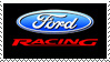 Ford Racing Stamp by sandwedge