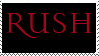 Red Rush Stamp by sandwedge