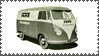 VW BUS STAMP by sandwedge