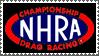 N H R A stamp black by sandwedge