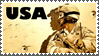 Support our troops stamp by sandwedge