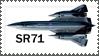SR71 stamp by sandwedge