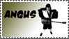 Angus Young stamp by sandwedge