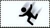 Stickman Falling stamp by sandwedge