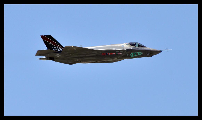 F35 test flight by sandwedge