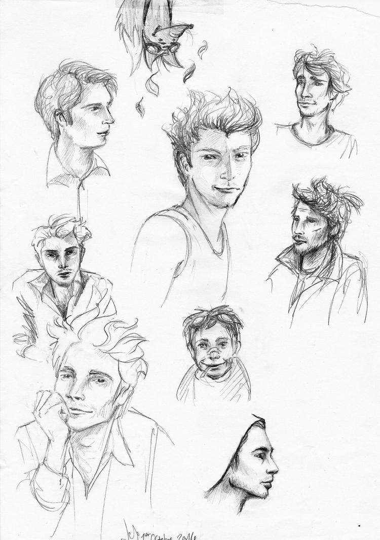 La Gazette de Néo-Versailles : Concours Fan-fictions (N°6 - Novembre 2014) Sketchdump___florent_dorin_by_leinnon-d842jso