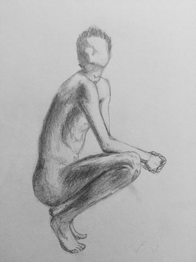 Male figure  by LilithR0S3