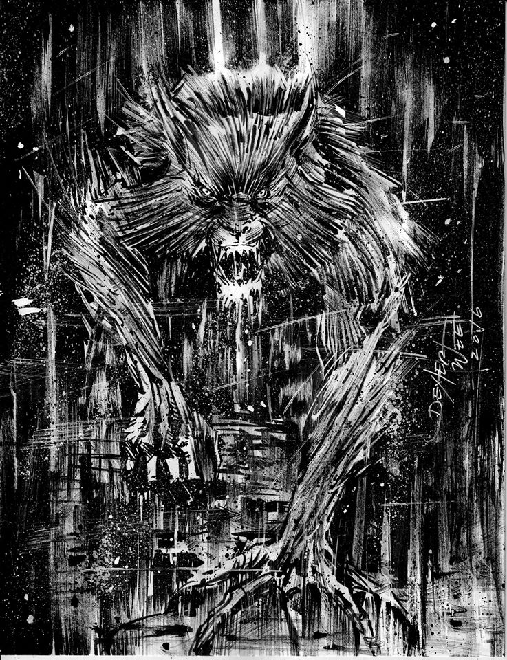 werewolf by dexterwee