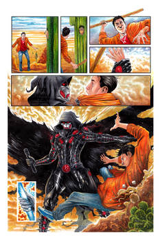 The Black Suit of Death #2 Page 10