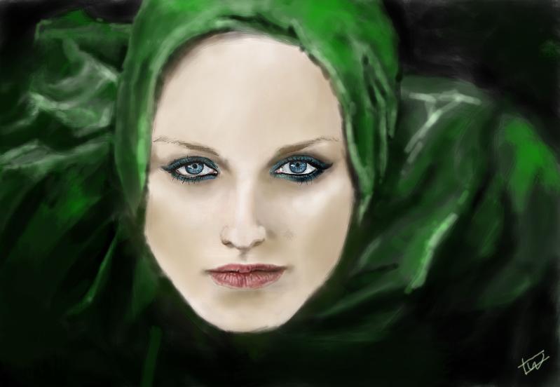 Girl In Veil by IsabelleWallgren