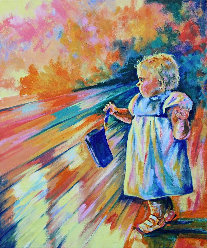 Toddler Thief by IsabelleWallgren