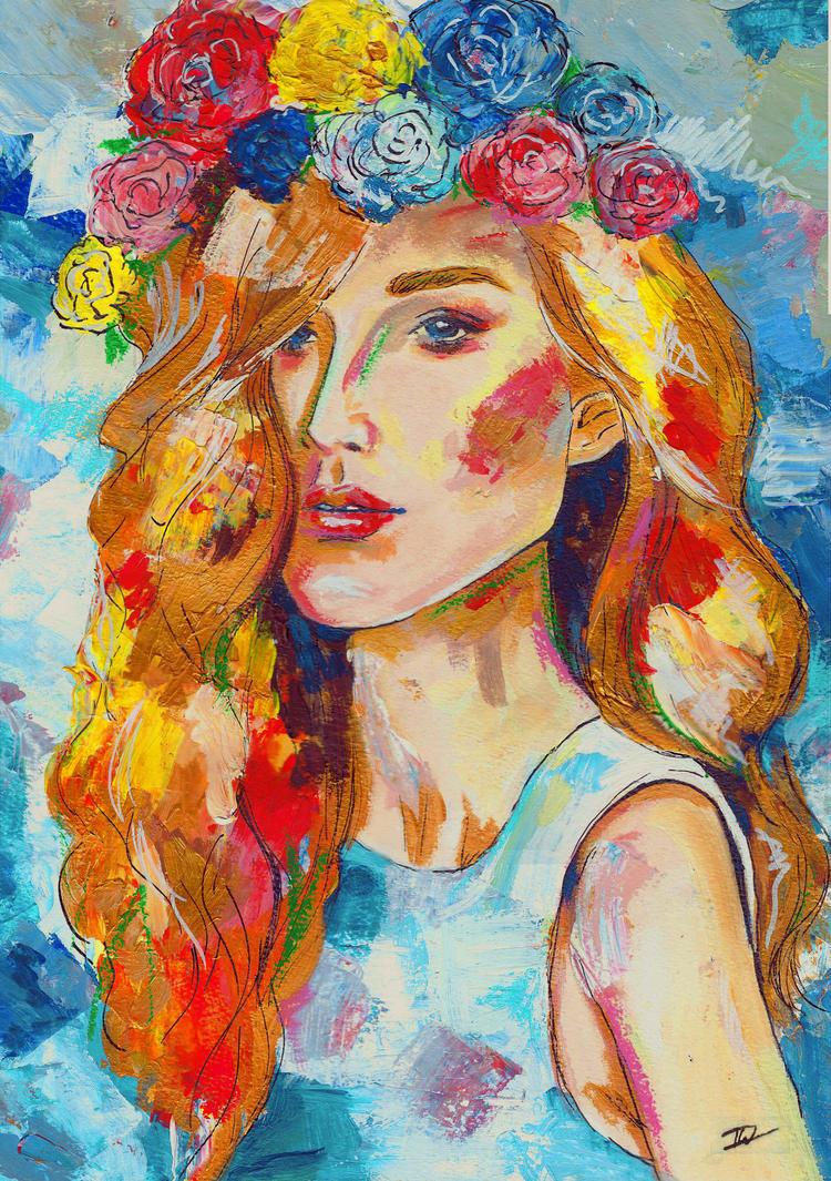 Golden hair by IsabelleWallgren