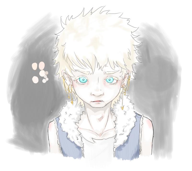 Albino LOV sketch by 0-zinx-0